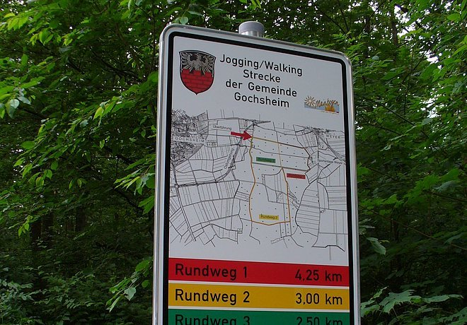 Nordic Walking in Gochsheim