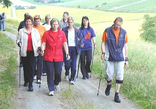 Nordic Walking in Tauberbsichofsheim